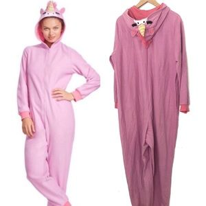 Nick & Nora unicorn one piece pj outfit size XXL